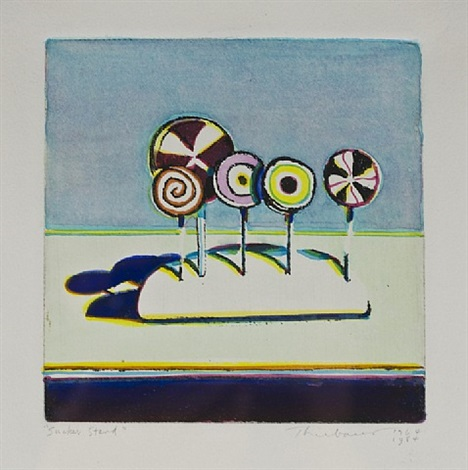 sucker stand by wayne thiebaud