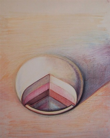 neapolitan pie by wayne thiebaud