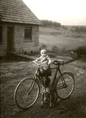 forester's child, westerwald by august sander