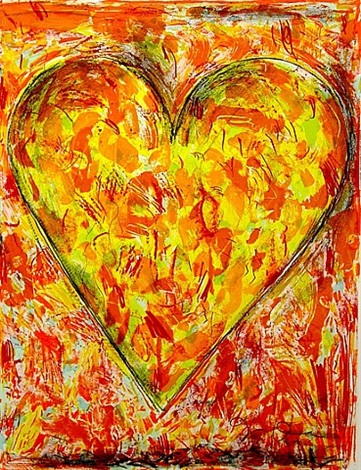 sunflower by jim dine