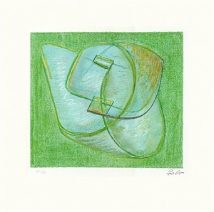 opus xx, green by naum gabo