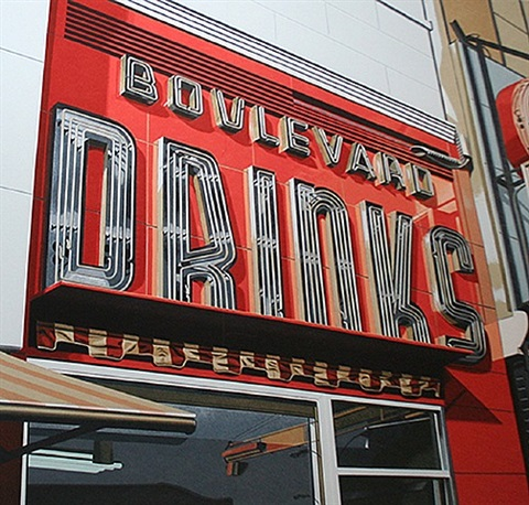boulevard drinks by robert cottingham