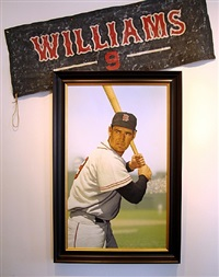ted williams at fenway by arthur k. miller