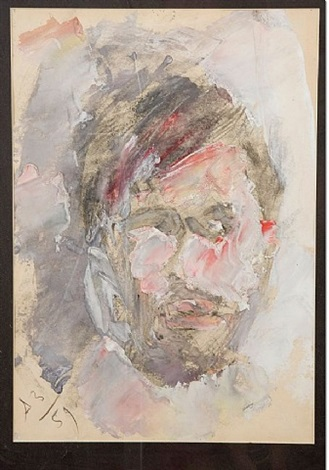 self-portrait by anatoly zverev