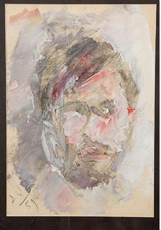self-portrait by anatoly zverev