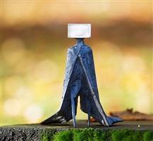 cloaked figure ii by lynn chadwick