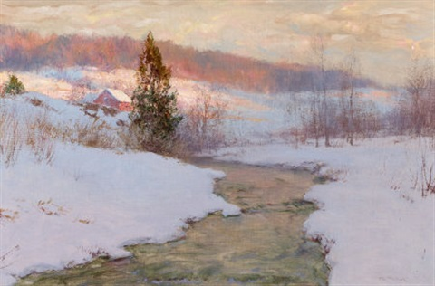 upland stream by walter launt palmer