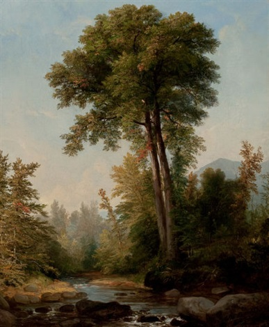 a natural monarch by asher brown durand