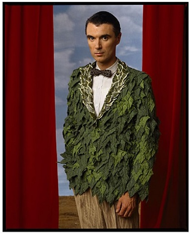 david byrne, los angeles, 1986 by annie leibovitz
