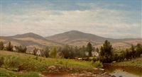 view near williamstown, berkshire county, massachusetts by charles wilson knapp