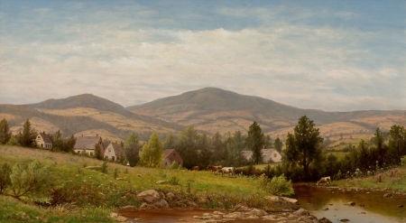 view near williamstown, berkshire county, massachusetts by charles wilson knapp