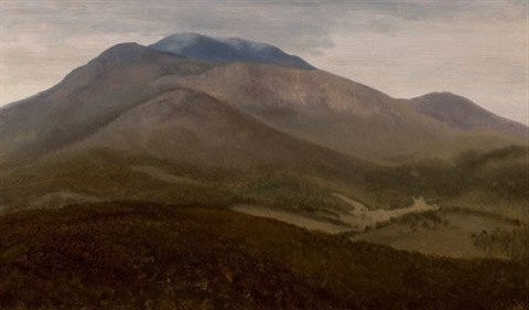 white mountains new hampshire by albert bierstadt