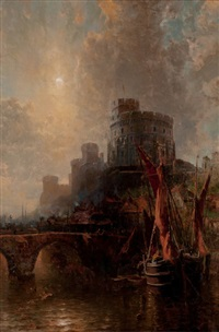 windsor castle, england (carnegie's winter castle) by george herbert mccord