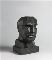 untitled (head) by sir eduardo paolozzi