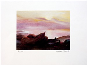 sunrise (cadaqués) by richard hamilton