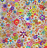 flower (superflat) by takashi murakami