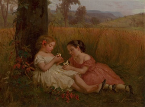 he loves me he loves me not by george cochran lambdin