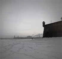 st. petersburg (peter and paul fortress) by alexey titarenko