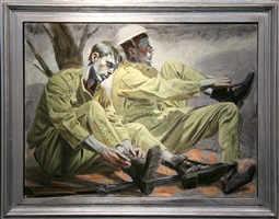 two soldiers by mark beard