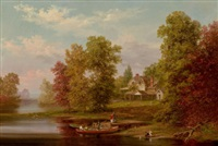 the homestead (down by the river) by xanthus russell smith