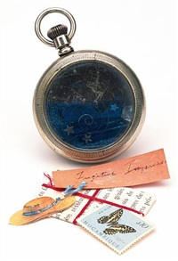 pocket watch by joseph cornell