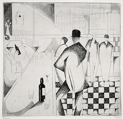 bar en pennsylvanie by jean-emile laboureur