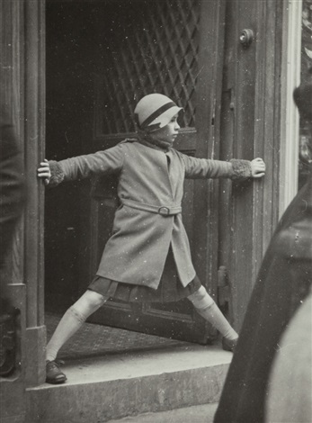 girl blocking the doorway by dora maar on artnet
