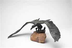 eagle and fish by michael naranjo
