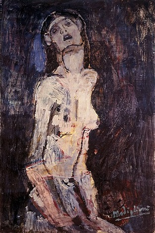 nudo dolente by amedeo modigliani