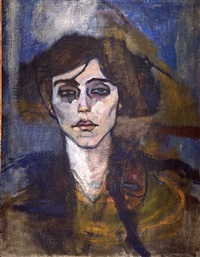 maud abrantes (verso) by amedeo modigliani