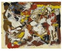 untitled, 1956 by michael goldberg