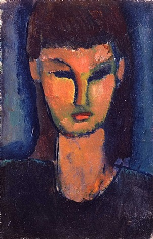 portrait by amedeo modigliani