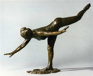 grande arabesque, troisième temps by edgar degas