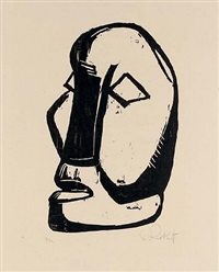 moses by karl schmidt-rottluff