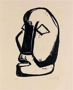 the sacred heart by karl schmidt-rottluff