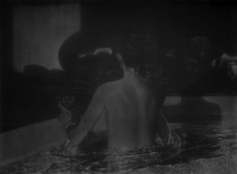 untitled (woman in pool) by troy brauntuch