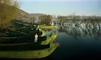 fishing boats by chen jiagang