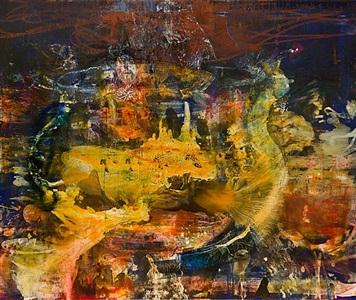 night painting (bluestocking) by catherine howe