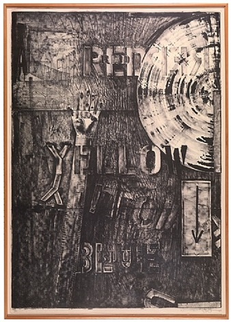 lands end by jasper johns