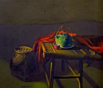 the celadon teapot by do quang em