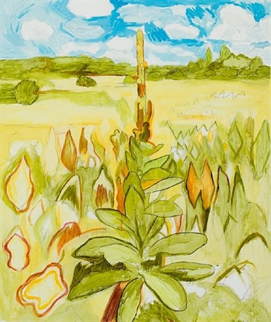 mullein drawing by john arden knight