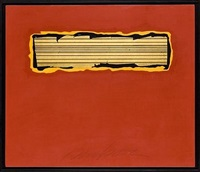 red minimal by george dunbar