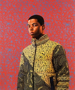annthony metellus by kehinde wiley