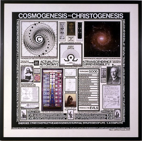 cosmogenesis to christogenesis by paul laffoley