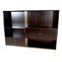 paul mccobb room divider/wall unit by paul mccobb