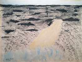 sandspit by milton avery
