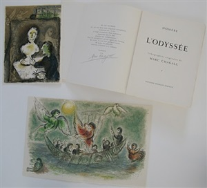 l'odyssée (complete set) by marc chagall