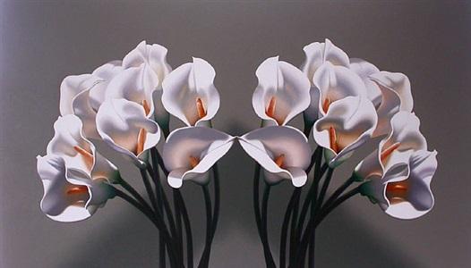 flower kiss by leon belsky