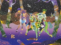 the future is always bright, study 2 by tomokazu matsuyama