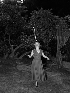 juggler, 1946 by stan douglas